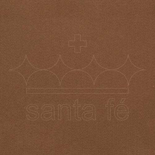 Feltro Liso Santa Fé - Marrom - Cor 025
