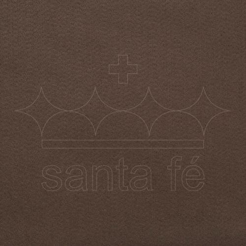 Feltro Liso Santa Fé - Marrom Terra - Cor 027