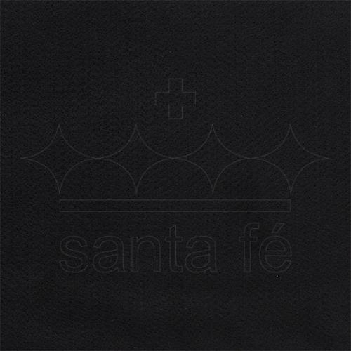 Feltro Liso Santa Fé - Preto - Cor 034