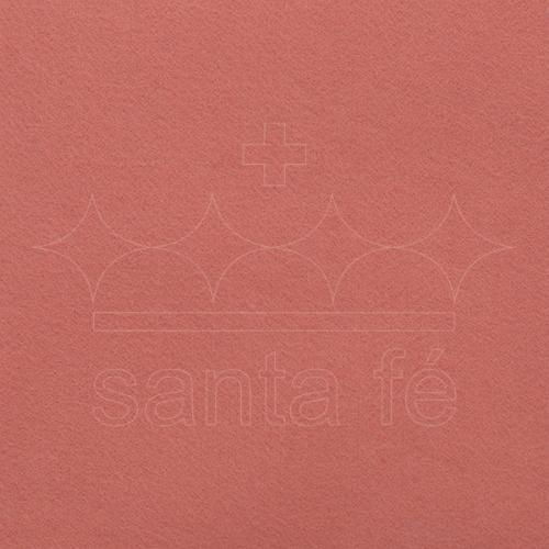 Feltro Liso Santa Fé - Rosa Pessego - Cor 051