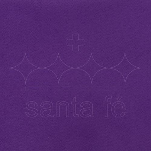 Feltro Liso Santa Fé - Roxo - Cor 071