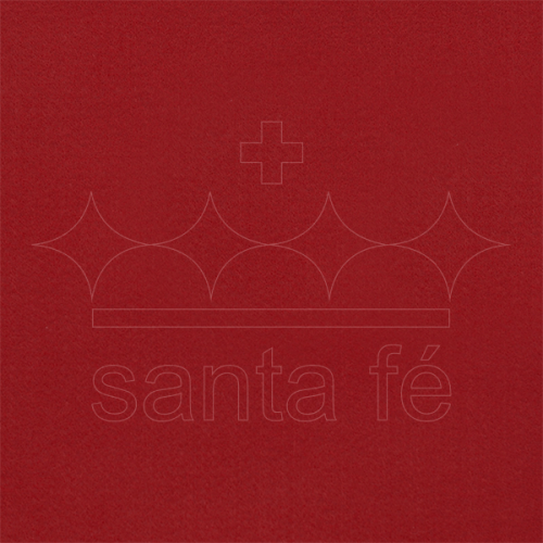 Feltro Liso Santa Fé - Vermelho Noel - Cor 065