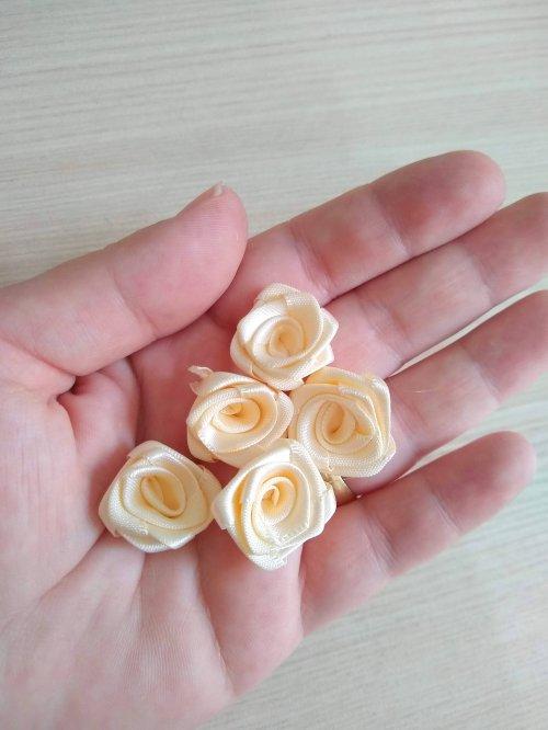 Flor de Cetim - Rococó - 20mm - 5 unidades