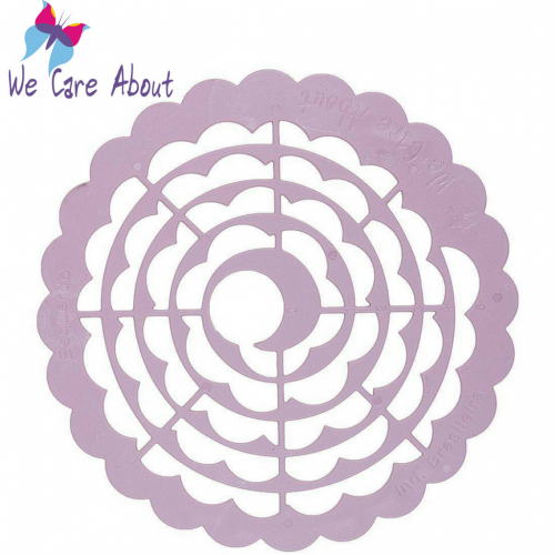 Gabarito Caracol Flores - We Care About