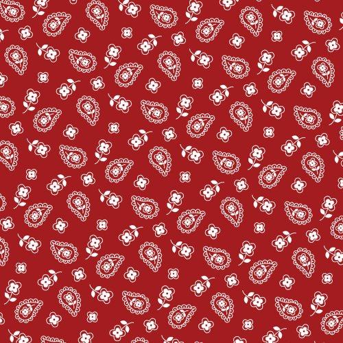 Tricoline - Cashmere Vermelho