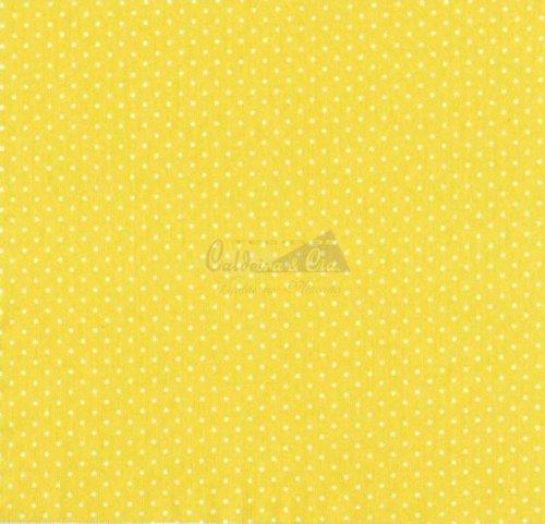 Tricoline - Poá Amarelo