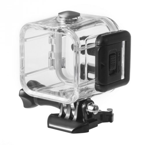 CAIXA ESTANQUE MERGULHO PARA GOPRO HERO 4 E 5 SESSION - CASE WATERPROOF HOUSING - LPGCES2
