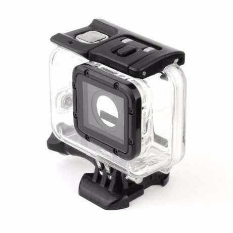 CAIXA ESTANQUE MERGULHO SUPER SUIT PARA GOPRO HERO 5 E 6 BLACK - CASE WATERPROOF HOUSING - LPGCE51