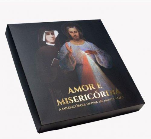 BOX AMOR E MISERICÓRDIA: Diário de Santa Faustina e mais quatro ítens