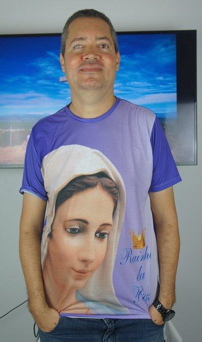 Camisa de Nossa Senhora de Medjugorje 01