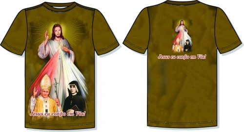 Camisa Jesus Misericordioso - 08