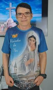 Camisas Rainha da Paz - Modelo 02