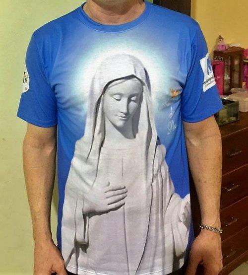 Camisas Rainha da Paz - Modelo 03