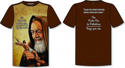 Camisas São Pe. Pio de Pietrelcina - Modelo 09