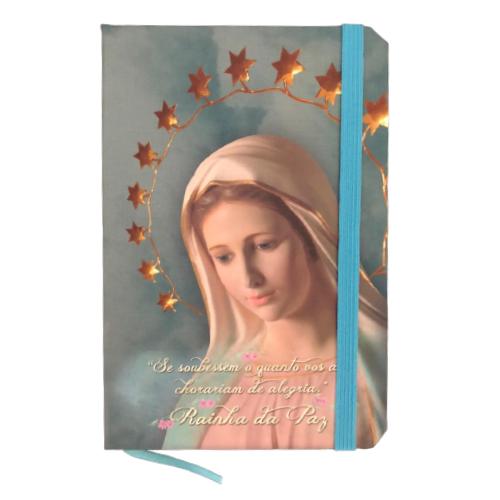 Caderneta de Anotação -  Nossa Senhora Rainha da Paz