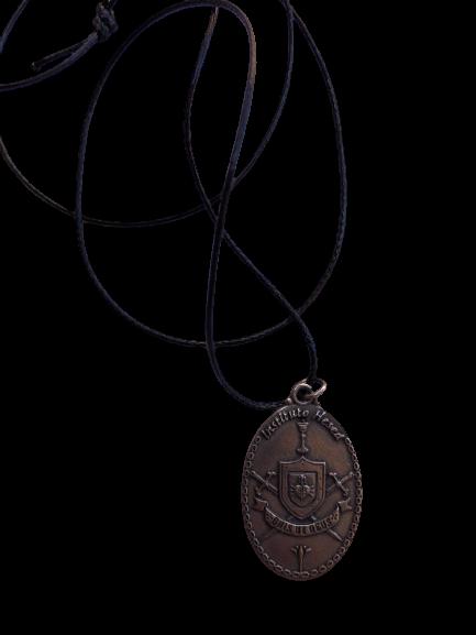 Cordão com a Medalha de São Miguel
