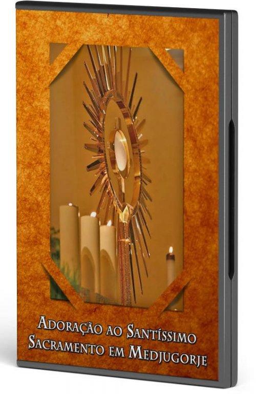 DVD Adoração ao Santíssimo Sacramento em Medjugorje