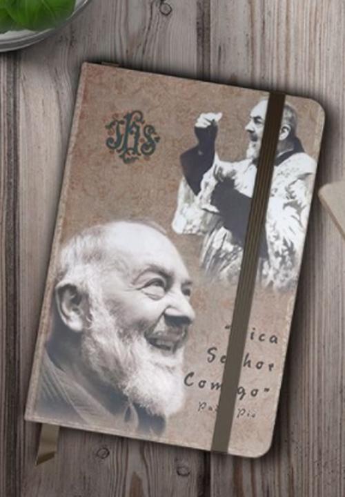 Caderneta de Anotação -  São Padre Pio