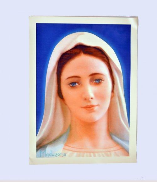 Tela para Quadro de Nossa Senhora Rainha da Paz