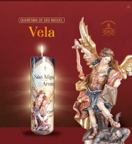 Vela votiva de São Miguel