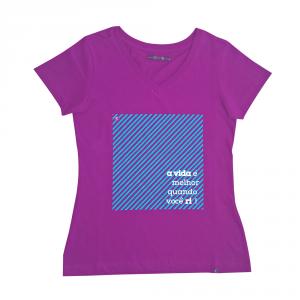 Camiseta Feminina Rota do Mar Roxo
