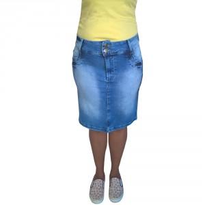 Saia Jeans Executiva Plus Size