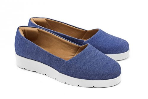 Tênis Slip-On Jeans Becc Boo no Atacado
