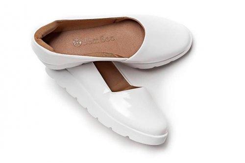 Tênis Feminino Slip-On Branco