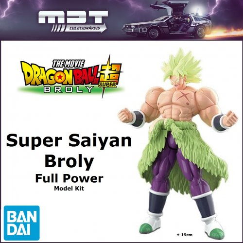Bandai - Dragon Ball Super Broly - Rise Super Saiyan Broly Full Power - Model Kit