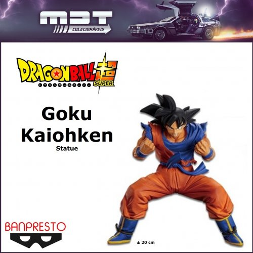 Banpresto - Dragon Ball Super - Goku Kaiohken Statue