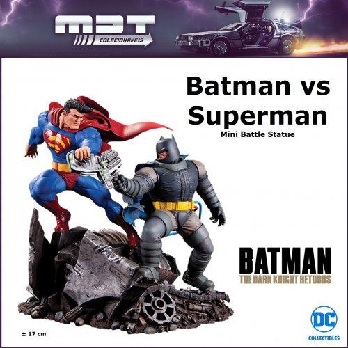 DC Collectibles - The Dark Knight Returns Batman vs Superman Mini Battle Statue