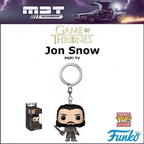 Funko Keychain - Game of Thrones - Jon Snow Beyond the Wall