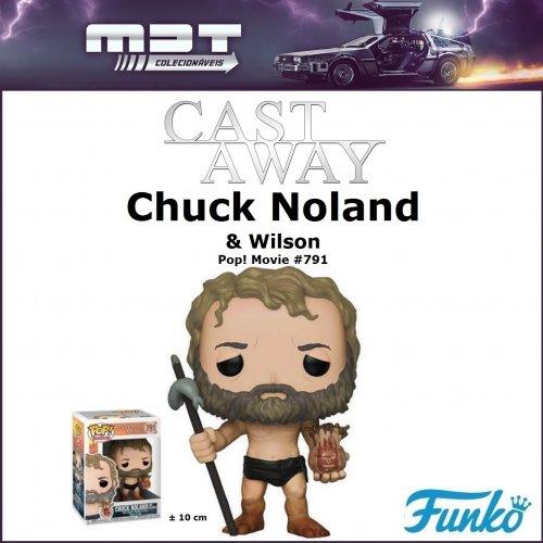 Funko Pop - Cast Away - Chuck Noland & Wilson #791