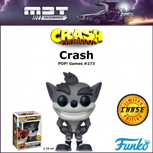Funko Pop - Crash Bandicoot - Crash #273 CHASE