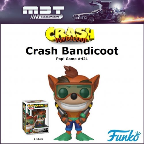 Funko Pop - Crash Bandicoot - Crash Bandicoot #421