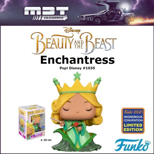 Funko Pop – Disney Beauty and the Beast - Enchantress #1035 (2021 Wondrous Convention Exclusive)