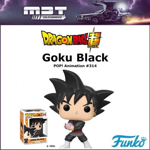 Funko Pop - Dragon Ball Super - Goku Black #314