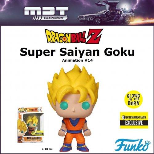 Funko Pop - Dragon Ball Z - Super Saiyan Goku #14 Glow EE Exclusive