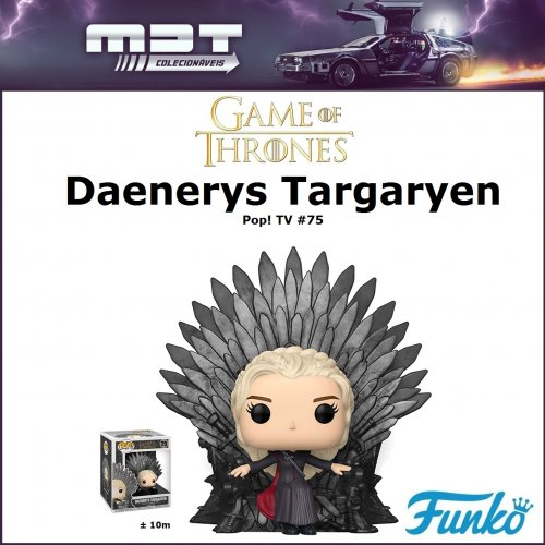 Funko Pop - Game of Thrones - Daenerys Targaryen Sitting on Throne Deluxe #75