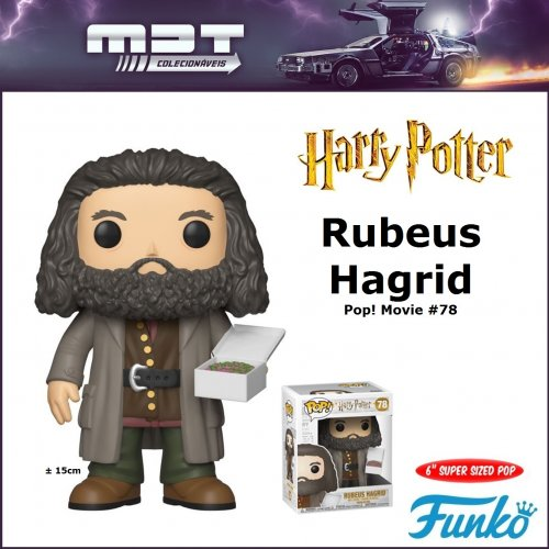 Funko Pop - Harry Potter - Rubeus Hagrid #78 Super Sized