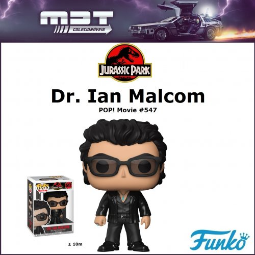 Funko POP - Jurassic Park - Dr. Ian Malcom #547