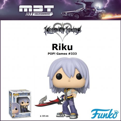 Funko Pop - Kingdom Hearts - Riku #333