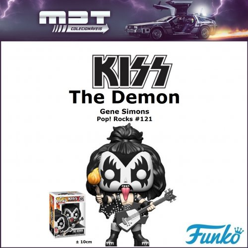 Funko Pop - Kiss - The Demon #121 (Gene Simons)