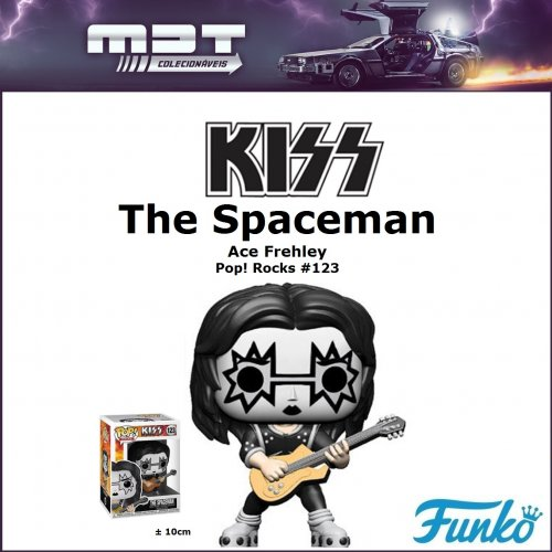 Funko Pop - Kiss - The Spaceman #123 (Ace Frehley)