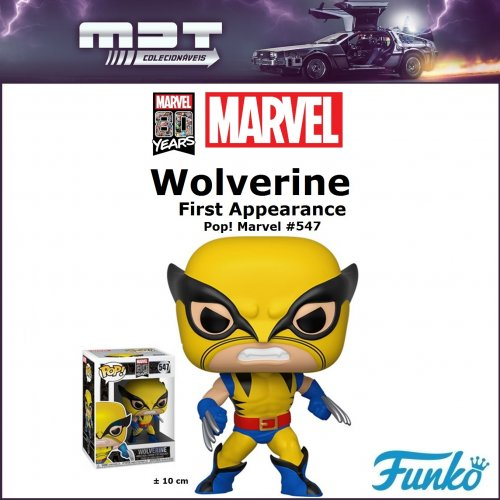 Funko Pop - Marvel 80th - First Appearance Wolverine #547