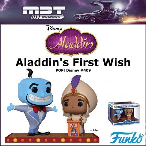 Funko Pop Movie Moments - Aladdin - Aladdin's First Wish #409