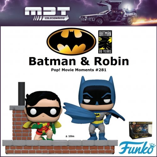 Funko Pop Movie Moments - Batman 80th - Batman and Robin (1972) #281