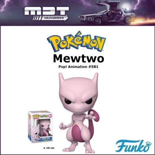 Funko Pop - Pokémon - Mewtwo #581