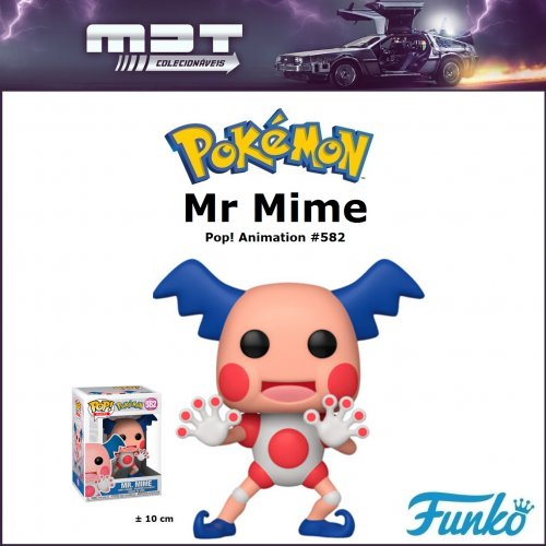 Funko Pop - Pokémon - Mr Mime #582