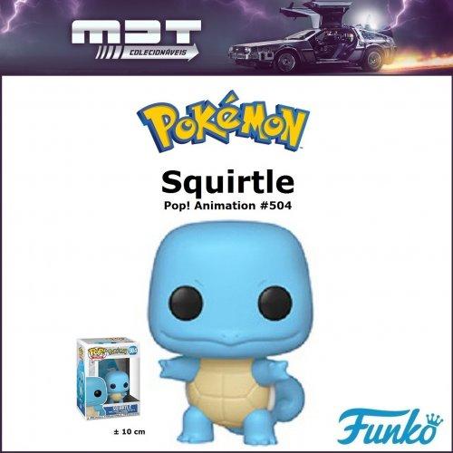 Funko Pop - Pokémon - Squirtle #504